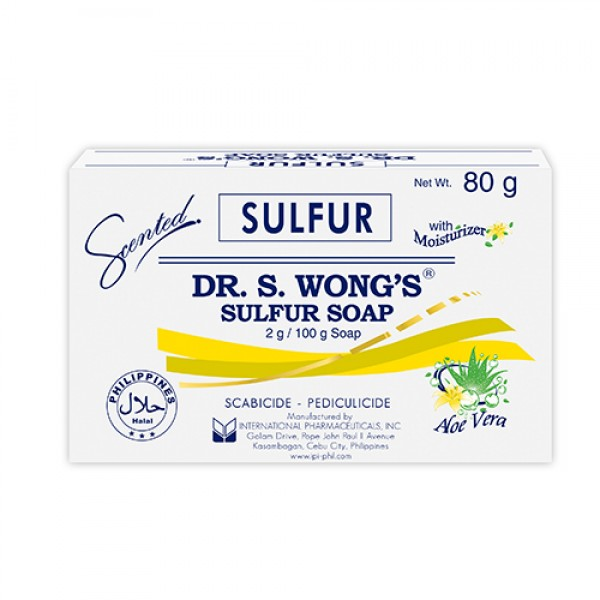 Dr. S. Wong's Sulfur Soap with Moisturizer