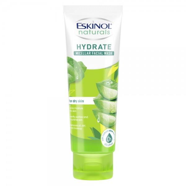 Eskinol Naturals Hydrate Micellar Facial Wash (Aloe)