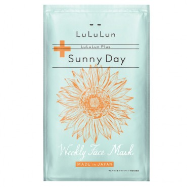 LuLuLun Plus Weekly Face Mask (Sunny Day)