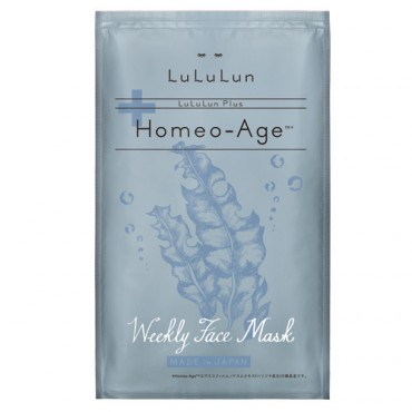 LuLuLun Plus Weekly Face Mask (Homeo-Age)
