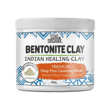 Luxe Organix Bentonite Clay Indian Healing Clay