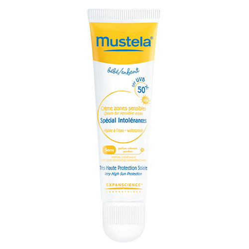 Mustela Sun Cream for Sensitive Areas SPF 50