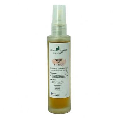 Neutra Organics Rose of Sharon Toning Mist (Rosewater Vitamin Spray)