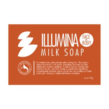 One Earth Organics Illumina Milk Soap