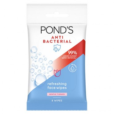Pond's Anti-Bacterial Refreshing Face Wipes