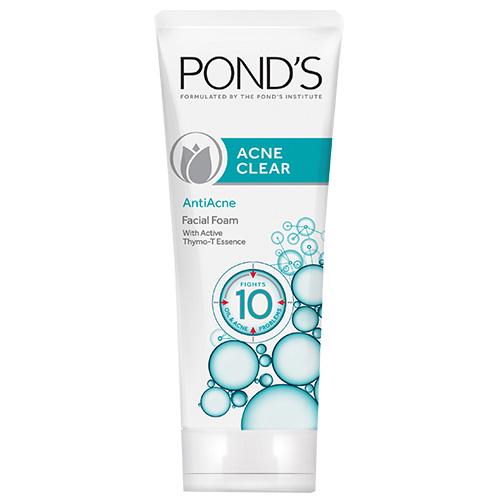 Pond's Acne Clear Facial Foam