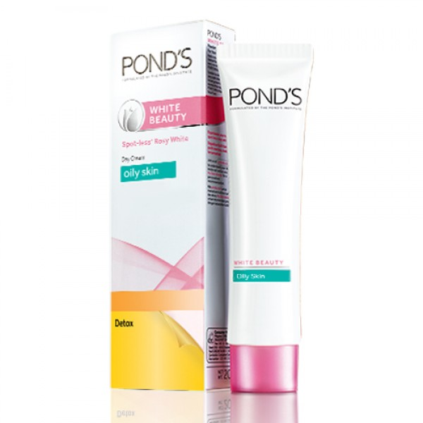 Pond's White Beauty Detox Day Cream (Oily Skin)