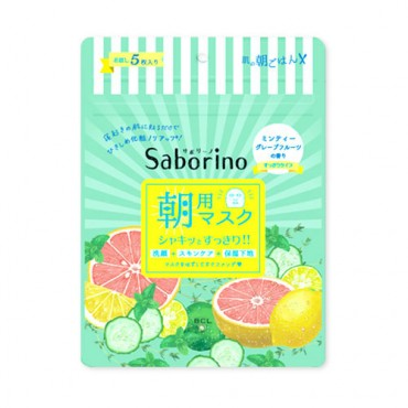 Saborino Morning Minty Fresh Facial Sheet Mask