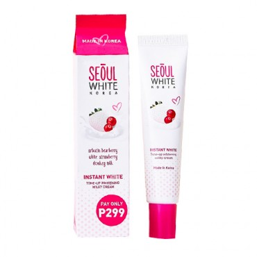 Seoul White Korea Instant White Tone-Up Whitening Milky Cream