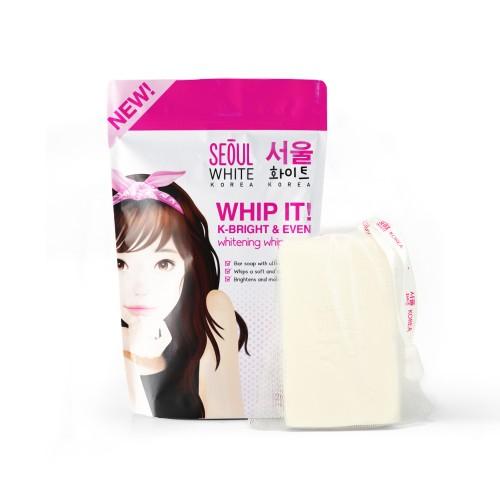 Seoul White Korea Whip It! K-Bright & Even Whitening Whip Soap