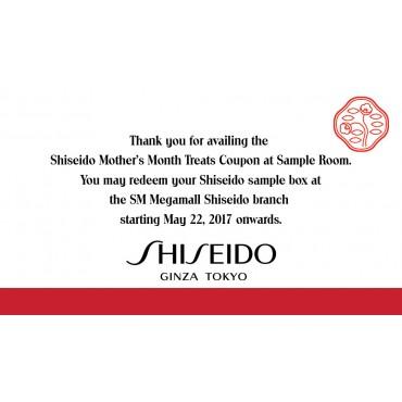 Shiseido Mother's Month Treats at International Beauty Fair SM Megamall (Coupon)