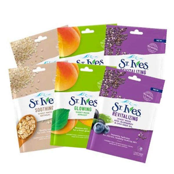 St. Ives Sheet Masks