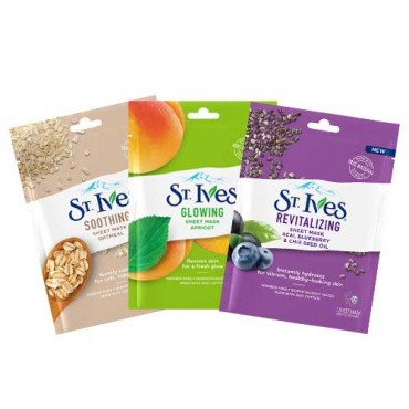 St. Ives Sheet Masks