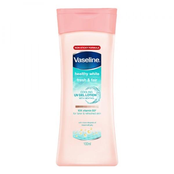 Vaseline Healthy White Fresh & Fair Cooling UV Gel Lotion (100ml)
