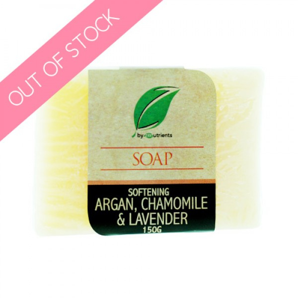 Zenutrients  Softening Argan, Lavender and Chamomile Soap
