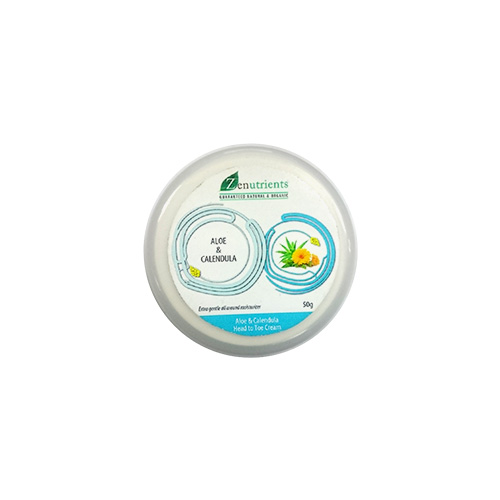 Zenutrients Aloe & Calendula Head to Toe Cream