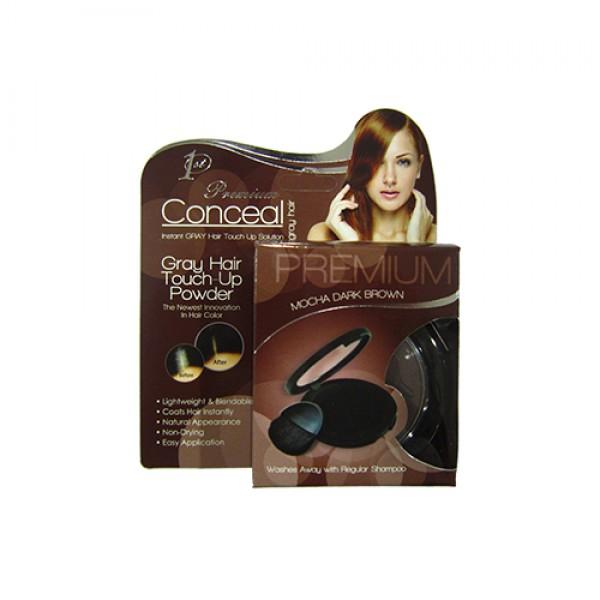 Conceal Touch Up Powder (Dark Mocha Brown)