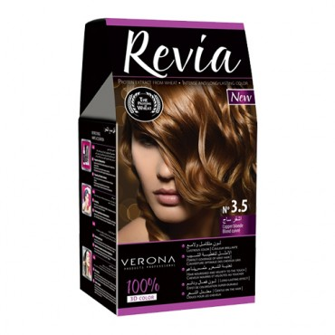 Revia Permanent Color Cream (3.5 Copper Blonde)